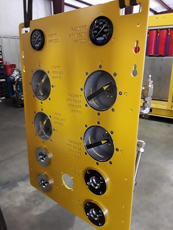 ROV Panel - Front View