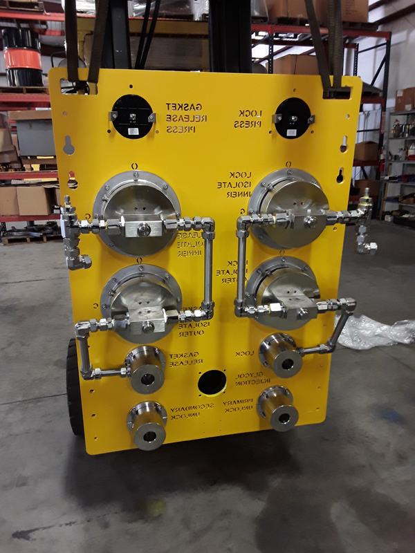 ROV Panel - Rear View